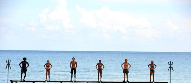 12ème épreuve d'immunité, au départ les concurrents devront se placer sur le ponton le plus éloigné de la plage, les 5 premiers qui arriveront sur le ponton suivant se qualifieront