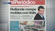 La presse espagnole commente l'arrivée à Matignon de Manuel Valls, né à Barcelone.