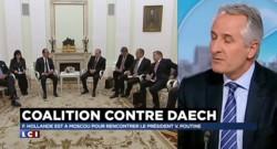 """Coalition contre Daech : Hollande, """"une boule de flipper qui rebondit de plot en plot"""""""