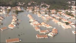 Inondations en Vendée, le 1er mars 2010