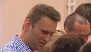Alexeï Navalny, le 18/7/13, à la fin de son procès