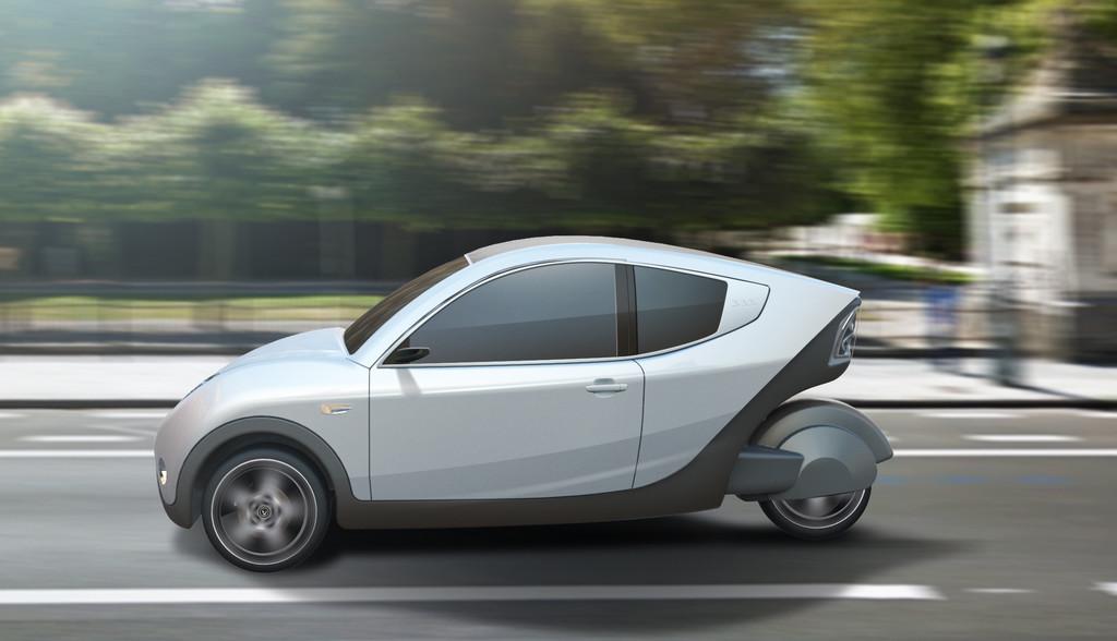 news automoto e car 333 l 39 insolite voiture lectrique venue de belgique mytf1. Black Bedroom Furniture Sets. Home Design Ideas