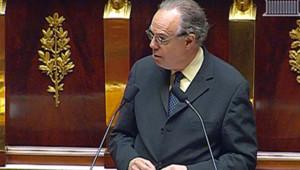Frédéric Mitterrand défendant le projet de loi Hadopi 2 à l'Assemblée (21 juillet 2009)