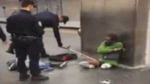 Gare de Lyon controle police handicapé tollé polémique