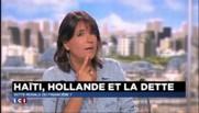 Hollande et la dette : une gaffe présidentielle en Haïti ?