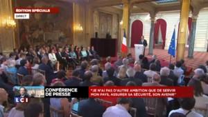 """Hollande : """"Il y a eu une succession d'épreuves"""""""
