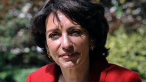 Marisol Touraine en mai 2012 dans les jardins de l'Assemblée nationale.