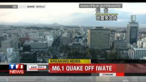Réplique de magnitude 6,1 au Japon : les premières images