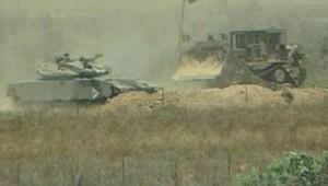 TF1/LCI gaza offensive char tsahal armée israélienne