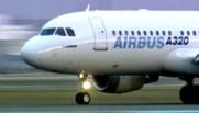 L'avion A320 de l'avionneur européen Airbus/Image d'archives