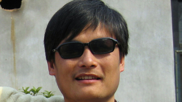 L&#039;avocat chinois aveugle Chen Guangcheng