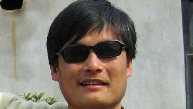 L'avocat chinois aveugle Chen Guangcheng