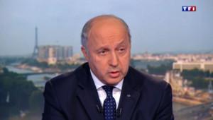 Laurent Fabius sur TF1 le 22 juillet 2014