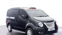 Le Nissan NV200 redessiné pour le Taxi de Londres 2014
