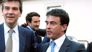 Arnaud Montebourg et Manuel Valls