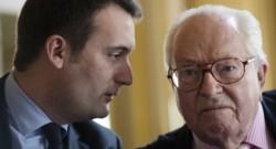 Florian Philippot et Jean-Marie Le Pen