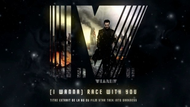 "I.V. Le clip ""I Wanna Race With You"" extrait de la bande originale du film ""Star Trek Into Darkness"""
