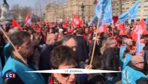 """Loi travail : faible mobilisation des syndicats """"réformistes"""" à Paris"""