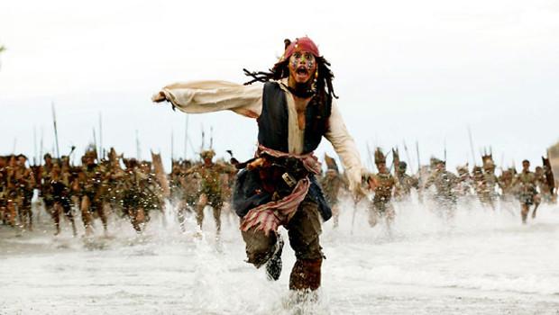 TF1/LCI Johnny Depp Pirates des caraibes 2 Le secret du coffre maudit