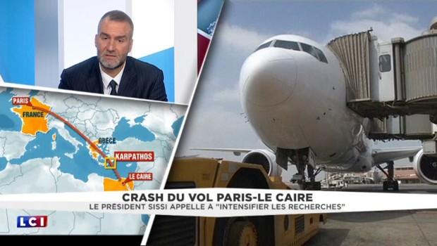 """Vol Paris-Le Caire : """"Avoir des contradictions quelques jours et quelques heures après le drame, c'est normal"""""""