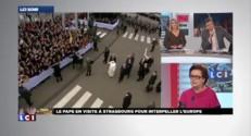 """C. Boutin : """"Le pape est venu comme chef d'Etat"""""""