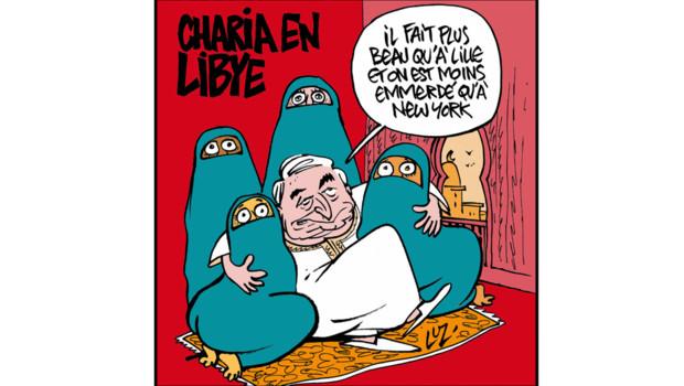 """Retrouvez les dessins d'actu. du dessinateur et directeur de Charlie Hebdo, Charb, réalisés tous les mardis en direct sur LCI, dans l'émission """"Choisissez votre camp"""" de Valérie Expert."""