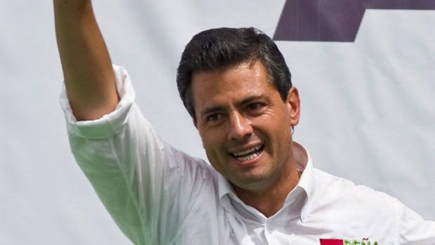 Enrique Pena Nieto, nouveau président du Mexique.