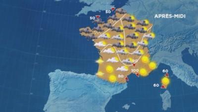 La météo du 23 octobre.