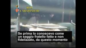 La police italienne lève le voile sur les rites de la mafia