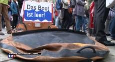 Afflux de migrants : des rassemblements silencieux en Autriche en hommage aux victimes
