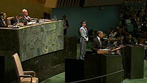 Barack Obama s'adresse à l'Assemblée générale de l'Onu, 25/9/12