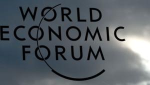 Le logo du Forum Economique Mondial de Davos