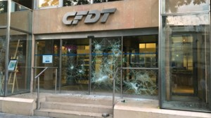 Le siège parisien de la CFDT