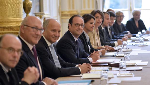 1er conseil des ministres du gouvernement Valls II, 27/8/14