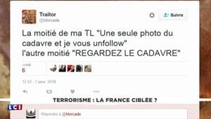 Attaque dans le 18e : la diffusion des images du suspect abattu divise sur les réseaux sociaux