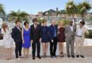 De gche à dte : Andrea Arnold, Ewan Mc Gregor, Hiam Abbass, Nanni Moretti, Emmanuelle Devos, Jean-Paul Gaultier, Diane Kruger, Raoul Peck et Alexander Payne, les membres du jury du Festival de Cannes