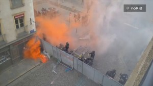 Loi Travail : un cocktail molotov lancé sur les CRS à Rennes