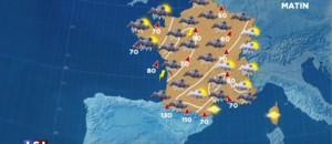 Orages et vents : 26 départements en vigilance orange