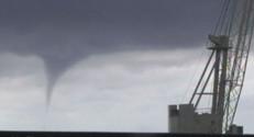 Une tornade a frappé les côtes italiennes, dans la région de Gênes, le 19 août.
