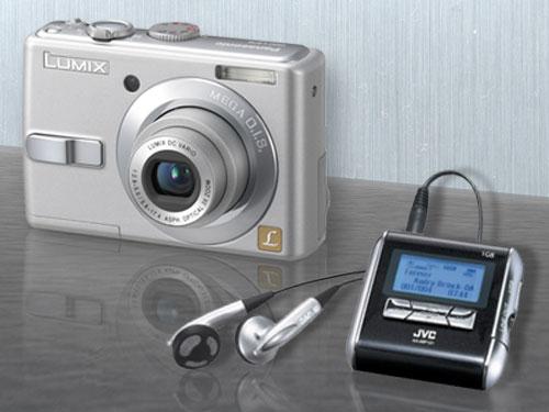 appareil photo numerique, panassonic, mp3, JVC