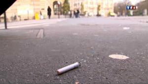 Ces mégots qui polluent les rues de Paris