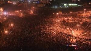 La place Tahrir, le 21 novembre 2011.