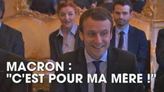 La petite blague de Macron qui a bien fait rire Valls