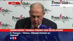 """Pasqua : """"Chirac n'a jamais assumé ses responsabilités"""""""