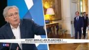 """Pivot sur Hollande : """"L'éloge de la molesse, ce n'est pas ma conception de la vie"""""""