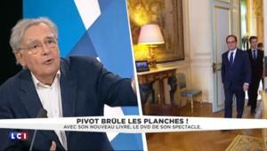 """Pivot sur Hollande : """"L'éloge de la mollesse, ce n'est pas ma conception de la vie"""""""