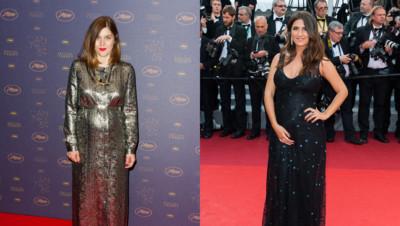 Géraldine Nakache et Valérie Donzelli à Cannes le 11 mai 2016.