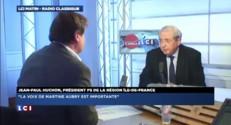 """Huchon : Aubry """"critique avec juste raison les coupes budgétaires"""""""