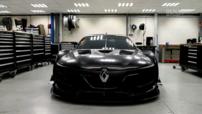 La nouvelle Renault Sport R.S. 01 qui remplace la Mégane Trophy à partir de 2015.