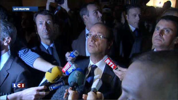 Hollande interpellé par une habitante d'Echirolles